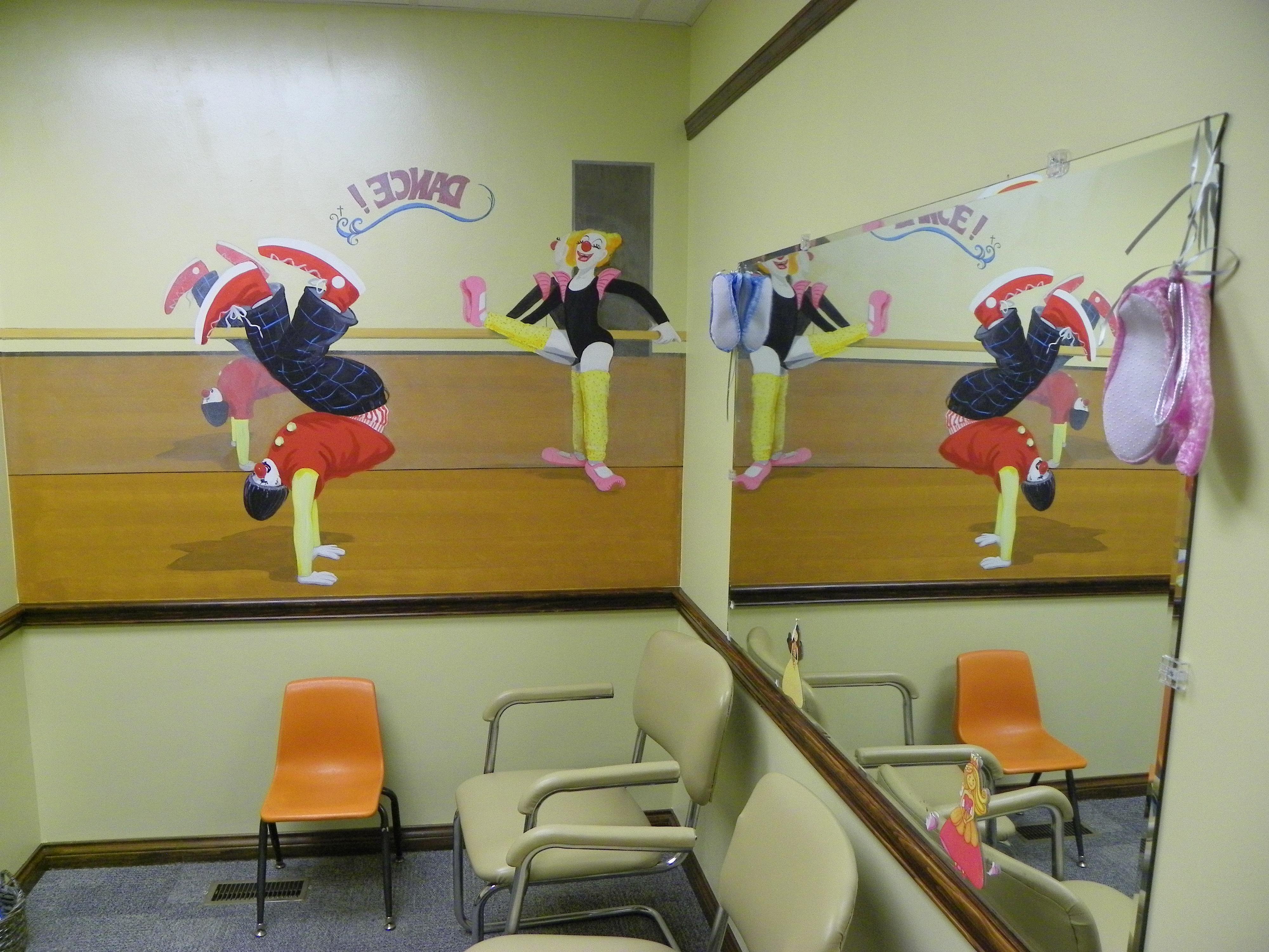 Dance Academy Themed Room. Office Tour   Clown Pediatrics